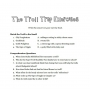 The Troll Trap - Worksheet for Children
