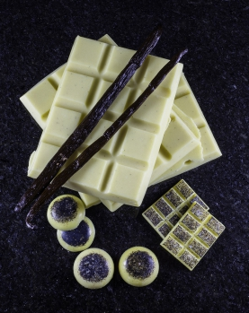 Homemade White Chocolate (Photo by Claire Wilson, Live Life Explore)