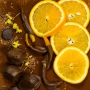 Chocolate-Coated Candied Orange Peel Recipe
