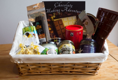 An example chocolate making hamper