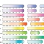 Copic Blending Hand Colour Chart